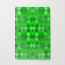 Pattern green 5 Metal Print