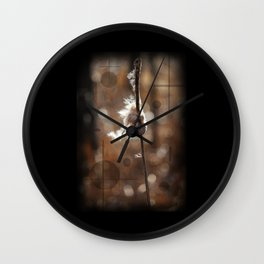 Pussy Willow Winds Wall Clock