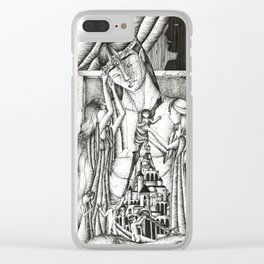 Rift in the house of Finwe Clear iPhone Case