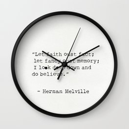 Herman Melville quotes 15 Wall Clock
