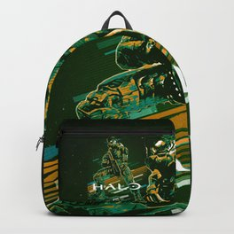 Halo retro art Backpack
