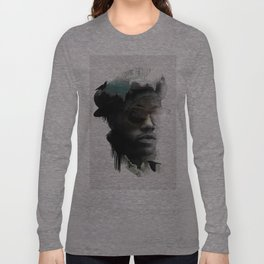Nino Brown Long Sleeve T-shirt