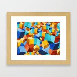 Cubism Framed Art Print