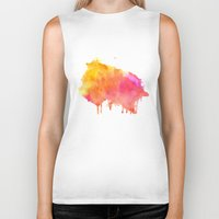 splash Biker Tanks featuring Splash #society6 #buyart #decor by 83 Oranges™