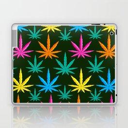 Colorful Marijuana weed Laptop & iPad Skin