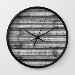 Birch Dust Leather Wall Clock