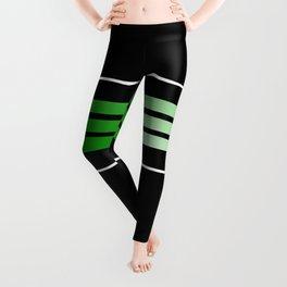 Team Colors 5...Green Leggings