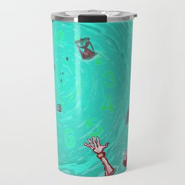 Drown in the now Travel Mug