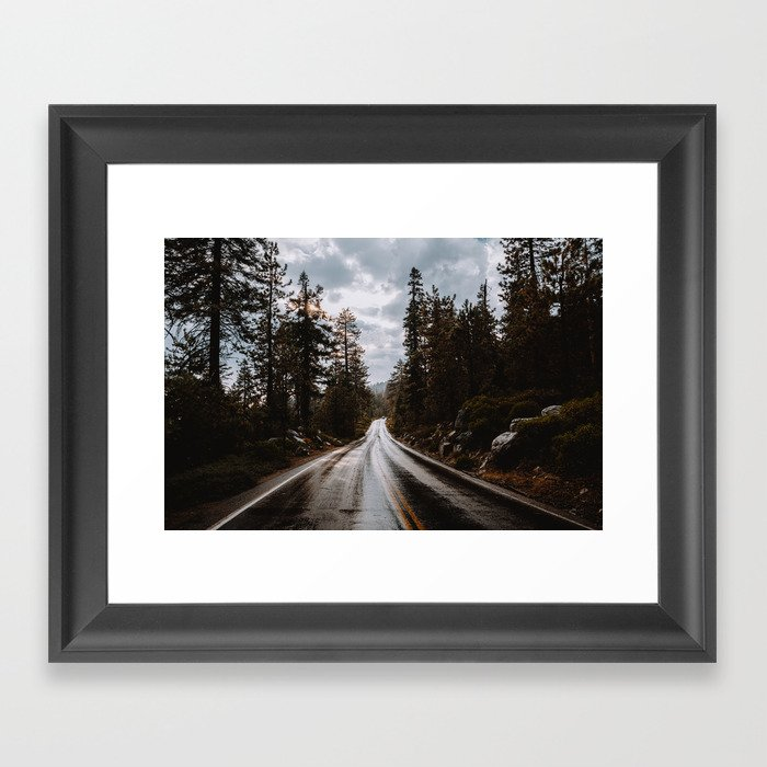 Rainy Day Adventures in the Forest Gerahmter Kunstdruck