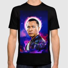 Donnie Yen LARGE Mens Fitted Tee Black