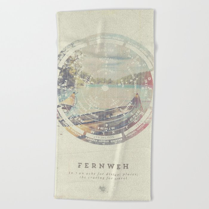 Fernweh Vol 8 Beach Towel