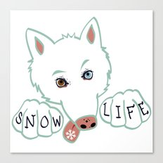 Snow Life Canvas Print