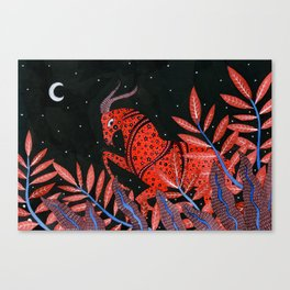 Zodiac - Capricorn Canvas Print