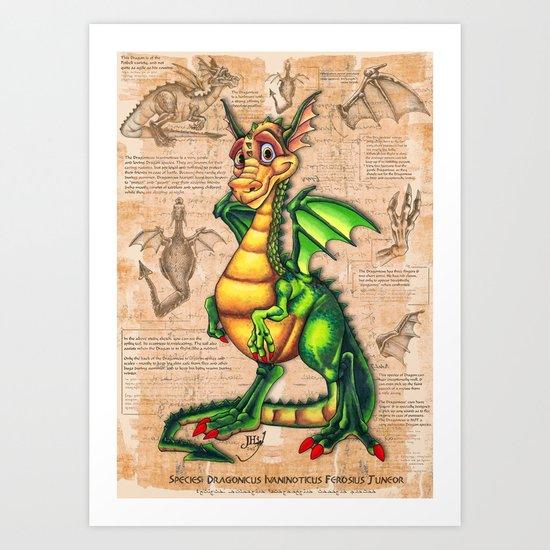 Dragonicus  Art Print