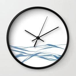 A Bottomless Sea No. 2 Calm Wall Clock