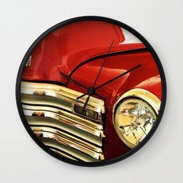 Vintage Truck Grill Wall Clock