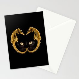 Cat Fish Stationery Cards