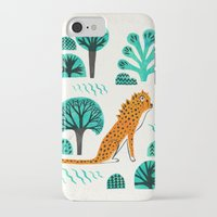 jaguar iPhone & iPod Cases featuring  Jaguar by Hui_Yuan-Chang