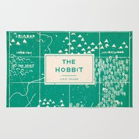 hobbit Area & Throw Rugs featuring The Hobbit by Buzz Studios