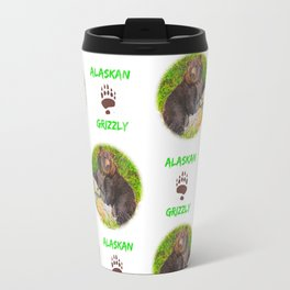 GRIZ  Pattern Travel Mug