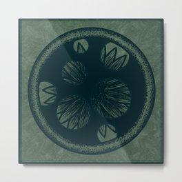 Hidden Flower Metal Print
