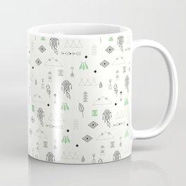 Seamless pattern with native American symbols Coffee Mug
