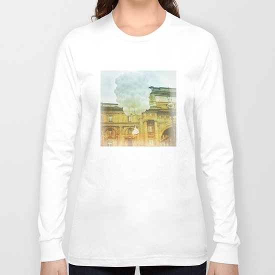 US AND THEM _ leaving them Long Sleeve T-shirt
