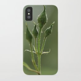 New Rose Unbloomed iPhone Case