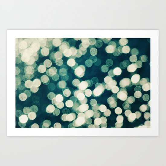 Under a Microscope Art Print