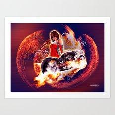 Moto7 Art Print