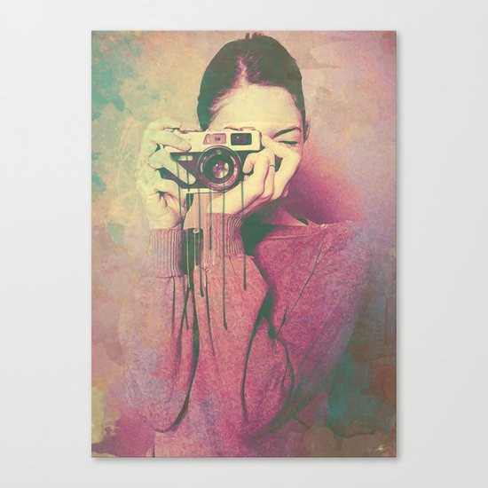 P Women Canvas Print