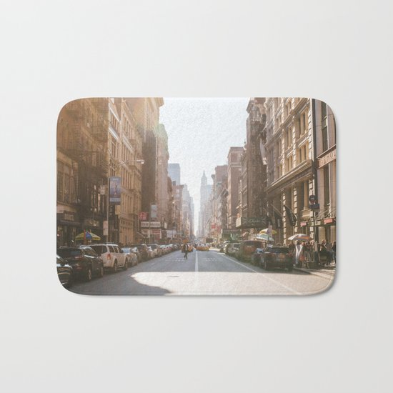 New York City Streets Bath Mat