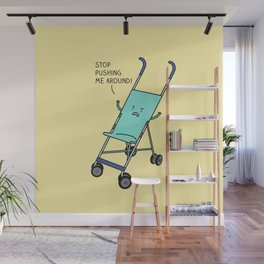 Angry stroller Wall Mural