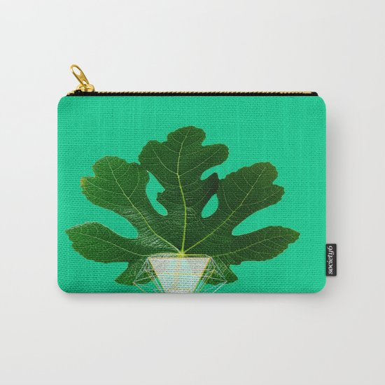 Fig Leaf Diamond Christmas Tree Carry-All Pouch