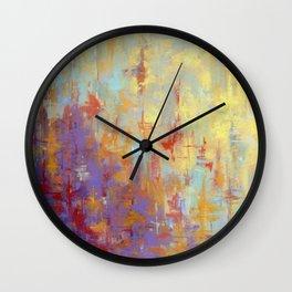 Delta Blues I Wall Clock
