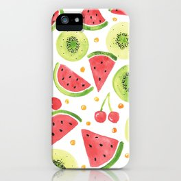 Summer Fruit Punch iPhone Case