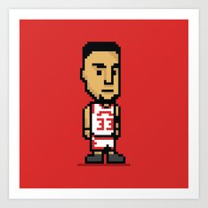 8-Bit: Scottie Pippen Art Print