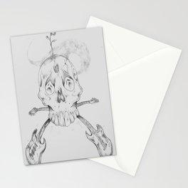smokin'SKULLxBONES Stationery Cards