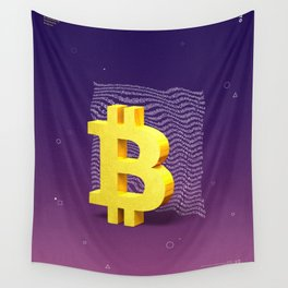 Bitcoin Wall Tapestry
