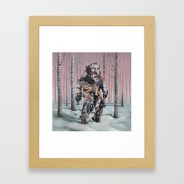 Catsquatch II Framed Art Print