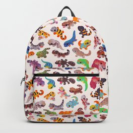 Gecko - bright Backpack