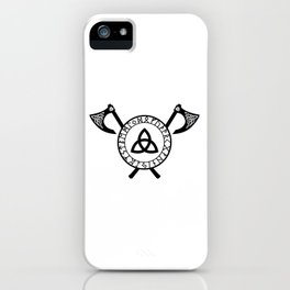 Norse Axe - Celtic Knot iPhone Case