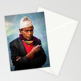Nepalese man of Sindhupalchowk, Nepal Stationery Cards