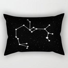 Sagittarius Star Sign Night Sky Rectangular Pillow