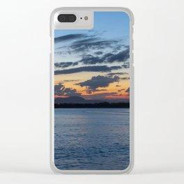 Sunset in Australia Clear iPhone Case