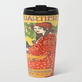 Vintage poster - The Quartier Latin Travel Mug