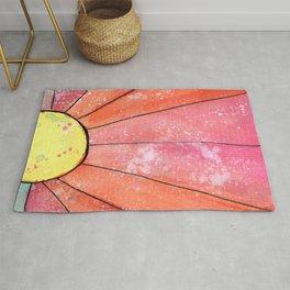Sun-Watercolor Rug
