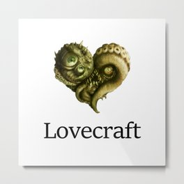 iLovecraft Metal Print