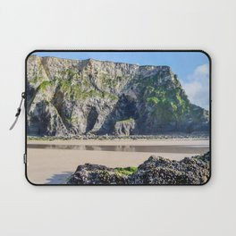 Watergate Bay - Cliff Face Laptop Sleeve