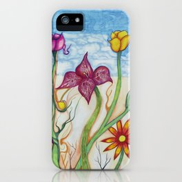 night at the jazz club iPhone Case